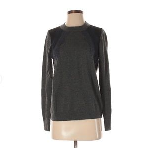 J. Crew Pullover Sweater with Lace Detail